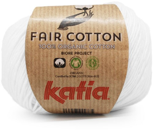 Katia Fair Cotton 01 White