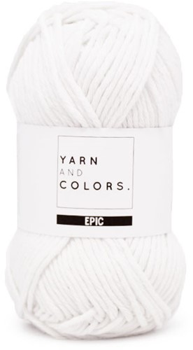 Yarn and Colors Epic 001 White