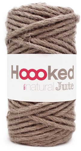 Hoooked Natural Jute 01 Cinnamon Taupe