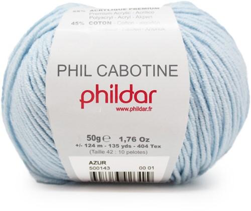Phildar Phil Cabotine 1089 Azur