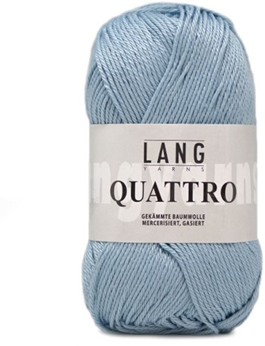 Lang Yarns Quattro 020 Light Blue