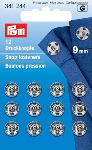 Prym Drukkers Zilver 9mm