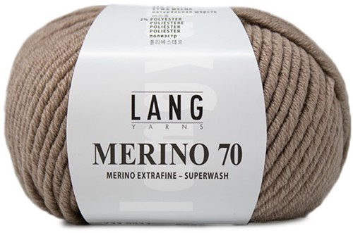 Lang Yarns Merino 70 022 Beige Mélange