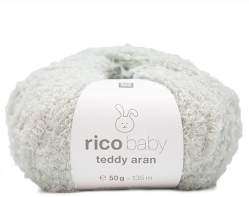 Teddy Aran Baby Dekentje Breipakket 1