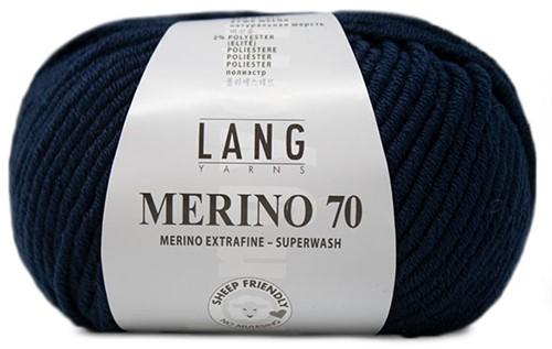 Lang Yarns Merino 70 025 Navy