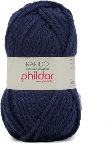 Phildar Rapido 1134 Indigo