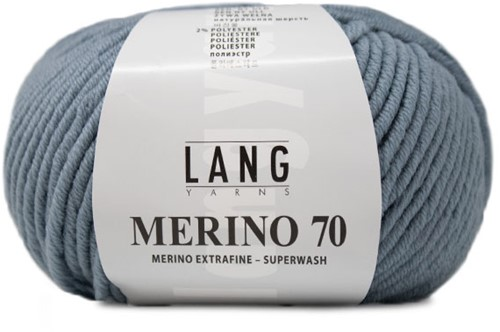Lang Yarns Merino 70 033 Light Jeans