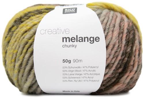 Rico Creative Melange Chunky 036 Salmon-Olive