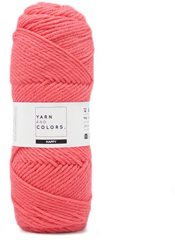 Yarn and Colors Maxi Cardigan Haakpakket 5 S/M Pink Sand