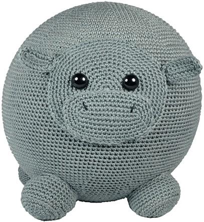 Ballonbal Haakpakket Nijlpaard