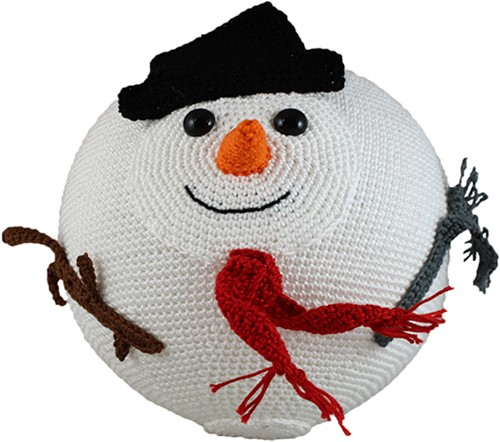 Ballonbal Haakpakket Sneeuwman