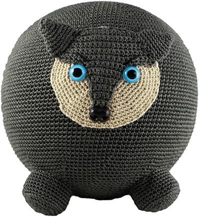 Ballonbal Haakpakket Wolf