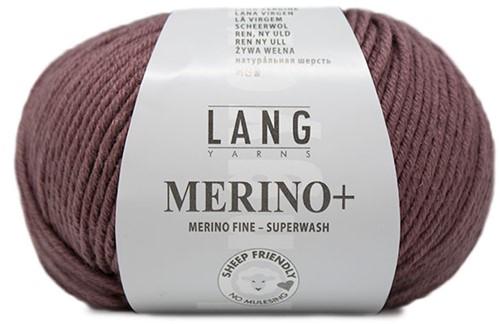 Lang Yarns Merino+ 048 Old Pink