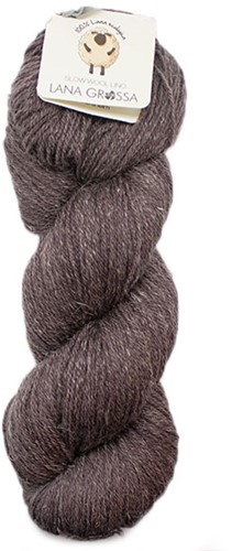 Lana Grossa Slow Wool Lino 004 Grey-Brown