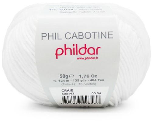 Phildar Phil Cabotine 1225 Craie