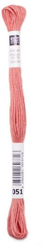 Rico Sticktwist Borduurgaren 8m 051 Coral