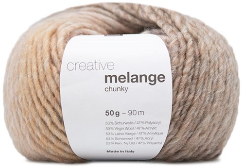 Rico Creative Melange Chunky 055 Salmon-Grey