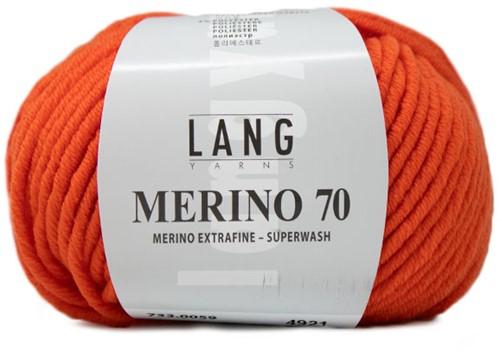 Lang Yarns Merino 70 059 Orange