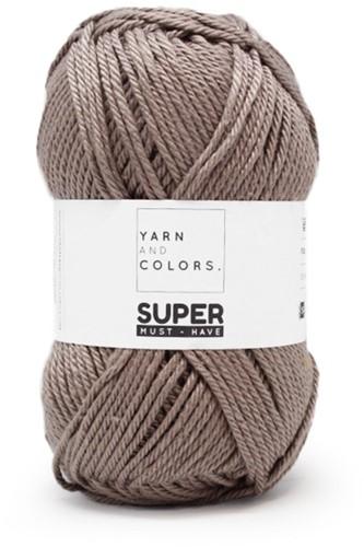 Yarn and Colors Leaf Cushion Haakpakket 4 Clay