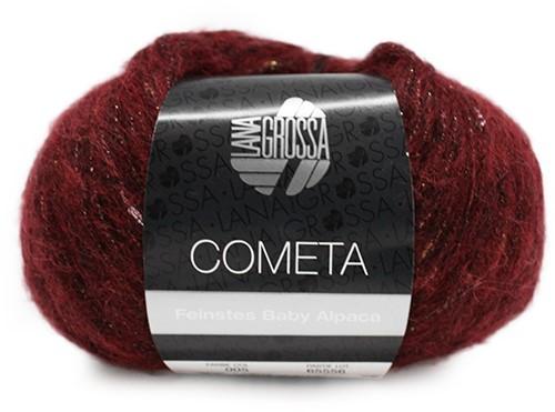 Lana Grossa Cometa 05 Dark Red / Gold / Silver