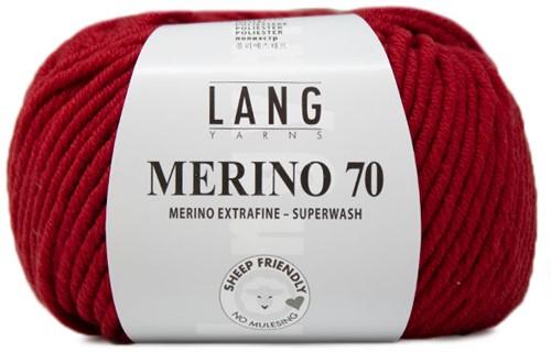 Lang Yarns Merino 70 061 Chianti