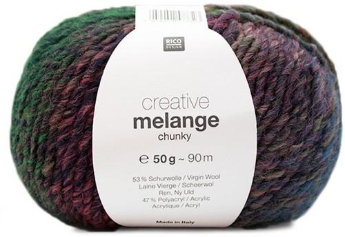 Rico Creative Melange Chunky 063 Orange-Green