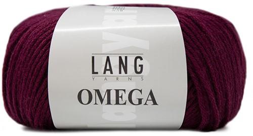 Lang Yarns Omega 066 Berry