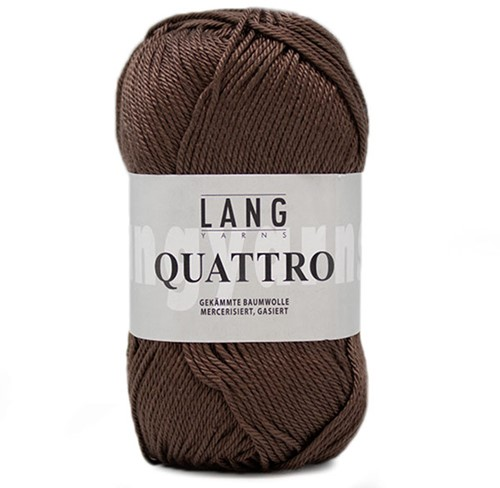 Lang Yarns Quattro 068 Brown