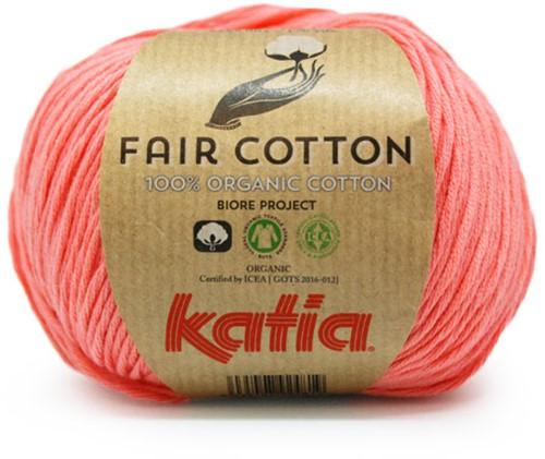 Katia Fair Cotton 06 Coral