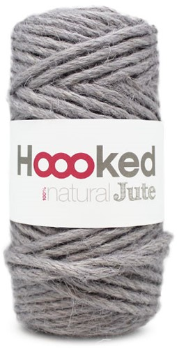Hoooked Natural Jute 06 Grey Mist