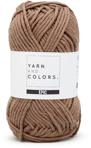 Yarn and Colors Basketweave Comfy Cushion Haakpakket 006 Taupe