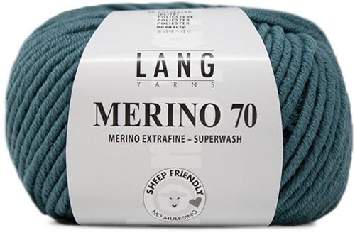 Lang Yarns Merino 70 074 Atlantic