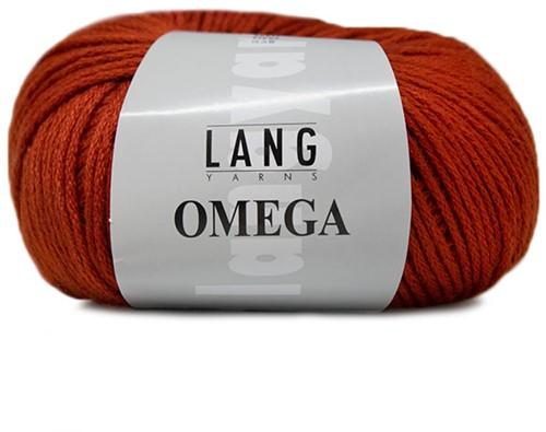 Lang Yarns Omega 075 Brown-Orange
