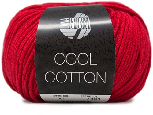 Lana Grossa Cool Cotton 7 Red