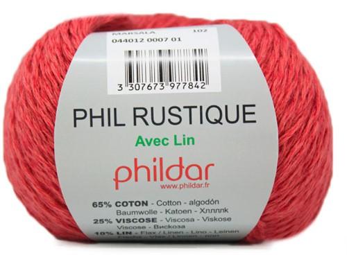 Phildar Phil Rustique 7 Marsala