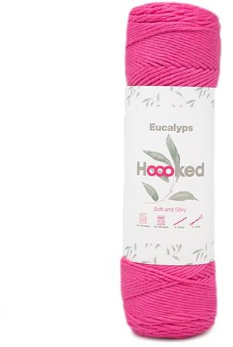 Eucalyps Spring Bells Sjaal Breipakket 7 Magenta
