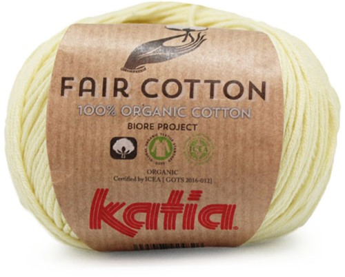 Katia Fair Cotton 07 Light Yellow