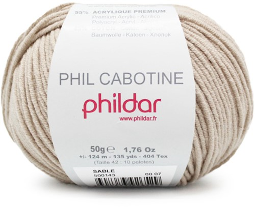 Phildar Phil Cabotine 1264 Sable