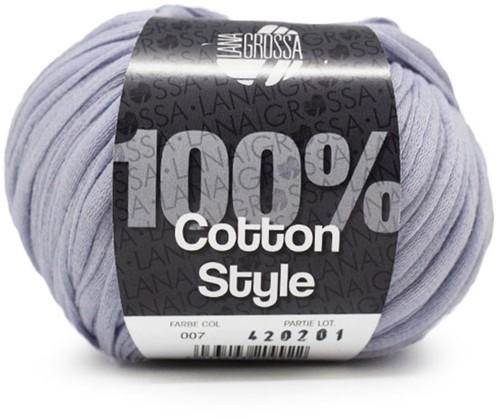 Lana Grossa Cotton Style 7 Light Blue