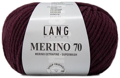 Lang Yarns Merino 70 080 Vino