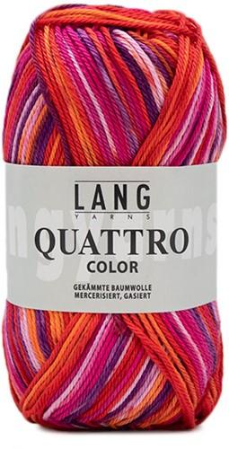 Lang Yarns Quattro Color 085 Pink/orange
