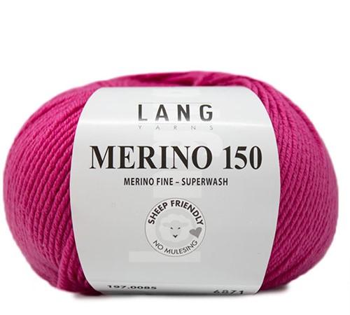 Lang Yarns Merino 150 085 Pink