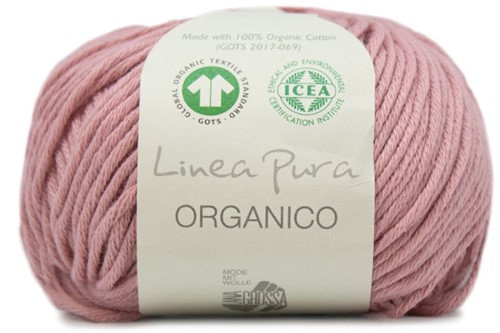 Lana Grossa Organico Uni 086 Old Pink