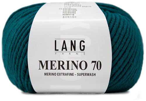 Lang Yarns Merino 70 088 Petrol