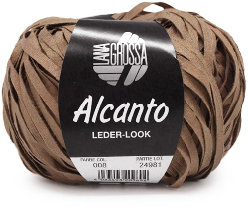 Lana Grossa Alcanto 8 Sand Brown