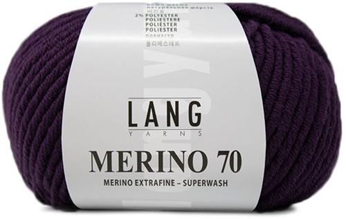 Lang Yarns Merino 70 090 Viola