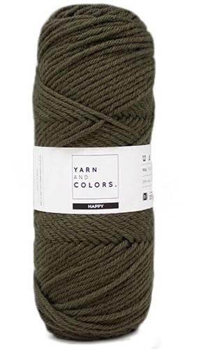 Yarn and Colors Maxi Cardigan Breipakket 13 S/M Khaki