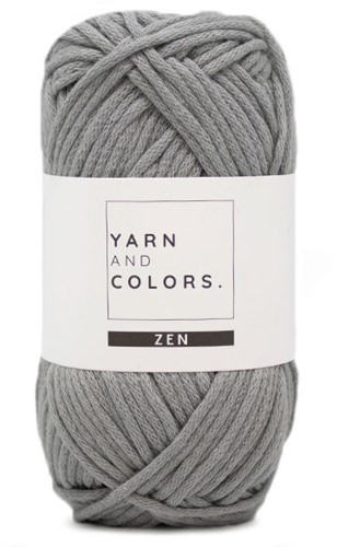 Yarn and Colors Knot a Scarf Breipakket 2 Shark Grey
