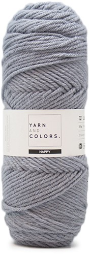 Yarn and Colors Maxi Cardigan Haakpakket 12 S/M Shark Grey