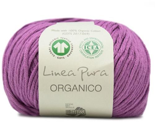 Lana Grossa Organico Uni 097 Violet